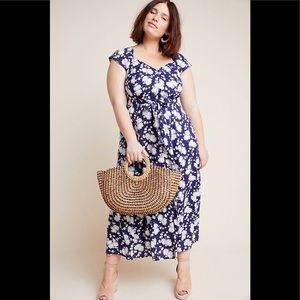 NWOT Anthropologie Maeve Tate Maxi dress
